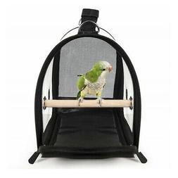 Bird Carrier Cage Nest Pet Parrot Breathable Transparent Han