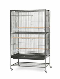 Birdcage Aviary Flight Home Shelter Parakeets Finches Wrough