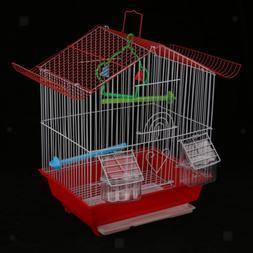 Birdcage Bird Cage Nest Hamster Breeding Nest Box Easy Clean