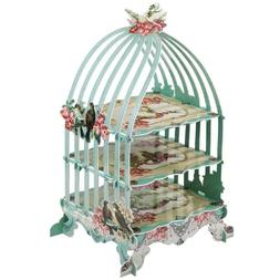 Birdcage Cake Stand Decorative Functional Cage Cake Holder f