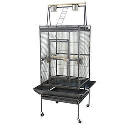 "ZENY 68"" Birdcage Pet Large Bird Cage Play Top Parrot Cockat"