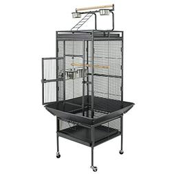 "ZENY Birdcage Pet Large Bird Cage 61"" Play Top Parrot Cockat"