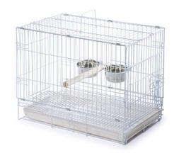 Birdcages - Prevue Prevue Hendryx Travel Bird Cage 1305 Whit