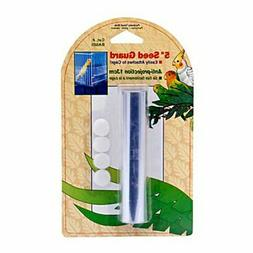 "PENN PLAX BIRDIE BIRD CAGE SEED GUARD 80"" X 5"" BASIC MEDIUM."