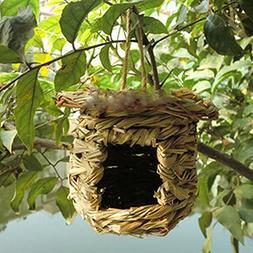 Birds Cages & Accessories--Handmade Straw Nest Bird's Nest R