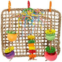 birds foraging wall toy hang creations seagrass