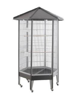 "BirdsComfort HQ Large Parrot Aviary Cage 36"" x 31"" x 68"" - P"