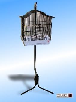 Dahak Large Black Tazmin Bird Cage And Matching Stand