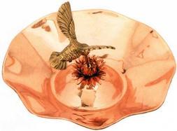 Bowl, Hummingbird Birdbath
