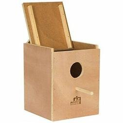 Prevue Pet Products BPV1103 Wood Inside Mount Nest Box for P
