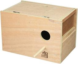 Prevue Pet Products BPV1105 Outside Mount Nest Box for Parak