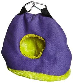 Prevue Pet Products BPV1167 Snuggle Sack Bird Nest with 2-In