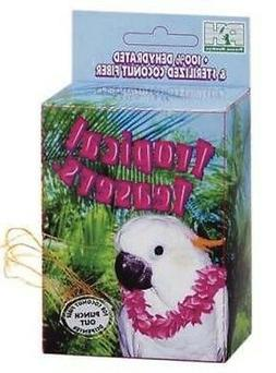 Prevue Pet Products BPV62092 Tropical Teasers Coco Nest Box