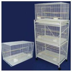YML Lot of 4 Medium Breeding Cages with Optional Divider and