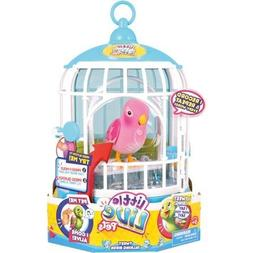 Little Live Pets Cage #3 Rare Pink Bird Cage