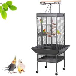 Cage Bird Parrot Medium Cockatiel Finch Pet Parakeet Stand T