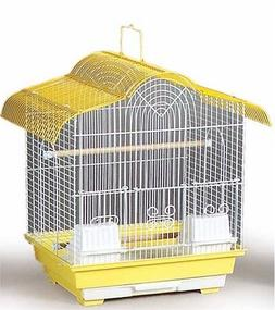 Prevue Hendryx Small Canary Cage / House Removable Bottom Gr