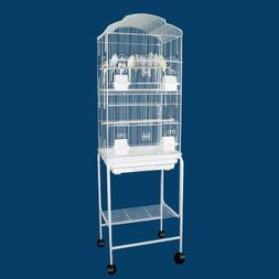 Canary Parakeet Cockatiel Lovebird finch Bird Cages With Sta