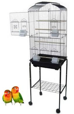 "Canary Parakeet Cockatiel LoveBird Finch Bird Cages --18""x14"