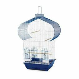 Prevue Hendryx Casbah Parakeet Cage, Blue and White