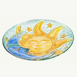 Evergreen Flag & Garden Celestial Skies Bird Bath