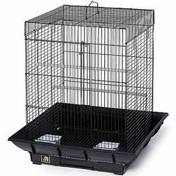 Prevue Hendryx Clean Life Small Flight Cage - Red & Black