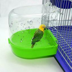 Clean Parrot Bird Bathtub Box Bird Bath Shower Stand Box Was