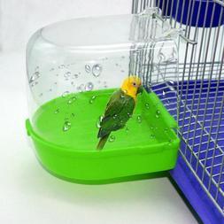 Clean Parrot Bird Bathtub Box Bird Bath Shower Standing Wash