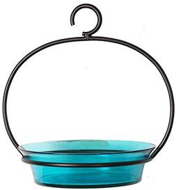 Couronne Co M337-200-09 Hanging Aqua Cuban Bird Bath, 8