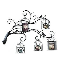 Adeco Trading Collage Wall Hanging 5 Opening Family Tree Scr