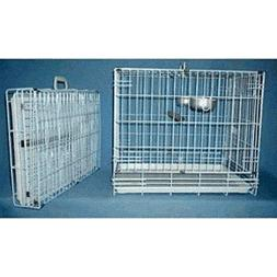 "Collapsable Bird, Dog and Cat Carrier Travel Cage 24""x16.5""x"