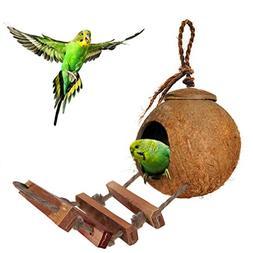 Colorful Environmental Friendly SunGrow Pet Bird Cage Toys -