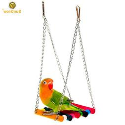Colorful Environmentaly Friendly Pet Bird Parrot Canary Swin
