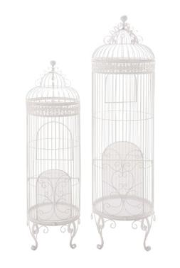 Benzara Benzara The Cool Metal Birdcage, Set of 2