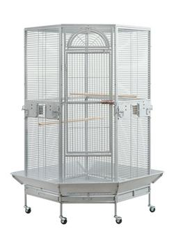 Seny Corner Bird Cage for Cockatiel Parakeet Budgies Parrot