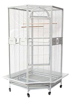 New Large Corner Cage For Cockatiel Parakeet Budgies Parrot