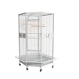"New Large 30"" Corner Cage For Cockatiel Parakeet Budgies Par"