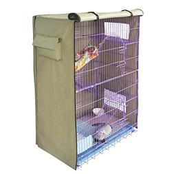"Yizhi Miaow Critter Nation Cage Cover 36""x25"" Bird Cage Cove"