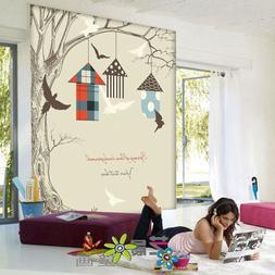Custom 3d Mural 3D Mural Wallpaper Cartoon Children Room Tre