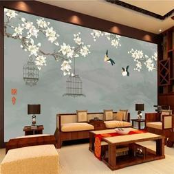 beibehang Custom wallpaper 3d mural new Chinese <font><b>bir