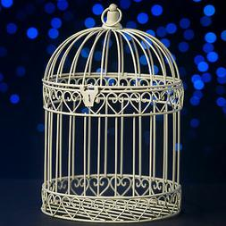 Shindigz Indoor/Outdoor Decorative Bird Cage Latern Centerpi