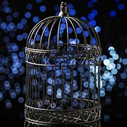 Decorative Black Bird Cage Centerpiece-Dress, Wedding-Cards