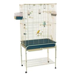 Marchioro Delfi 82 Birdcage for Canaries Cockatiels Small Pa