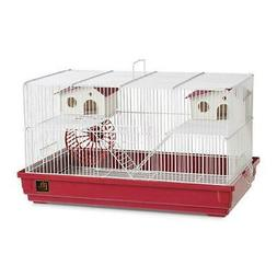Deluxe Hamster and Gerbil Cage - BordeauXRed