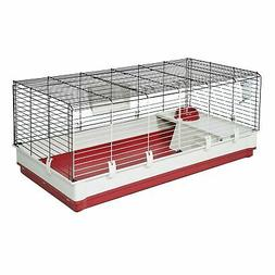 MidWest Homes for Pets Deluxe Rabbit & Guinea Pig Cage, X-La