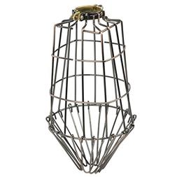 DIY Projects Elongated Metal Wire Cage Lamp Guard by Artifac