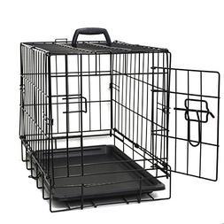 "Paws & Pals 20"" Wire Metal Cage Pet Cat/Dog Single Door Kenn"