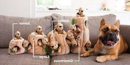 Outward Hound Dog Loves Hide A Squirrel Puppy Plush Puzzle S