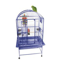 Large Dome Top Bird Cage Green