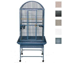 Medium Dome Top Bird Cage - Color: Platinum